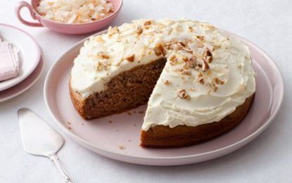Gluten-Free Sour Cream Coconut Banana Cake