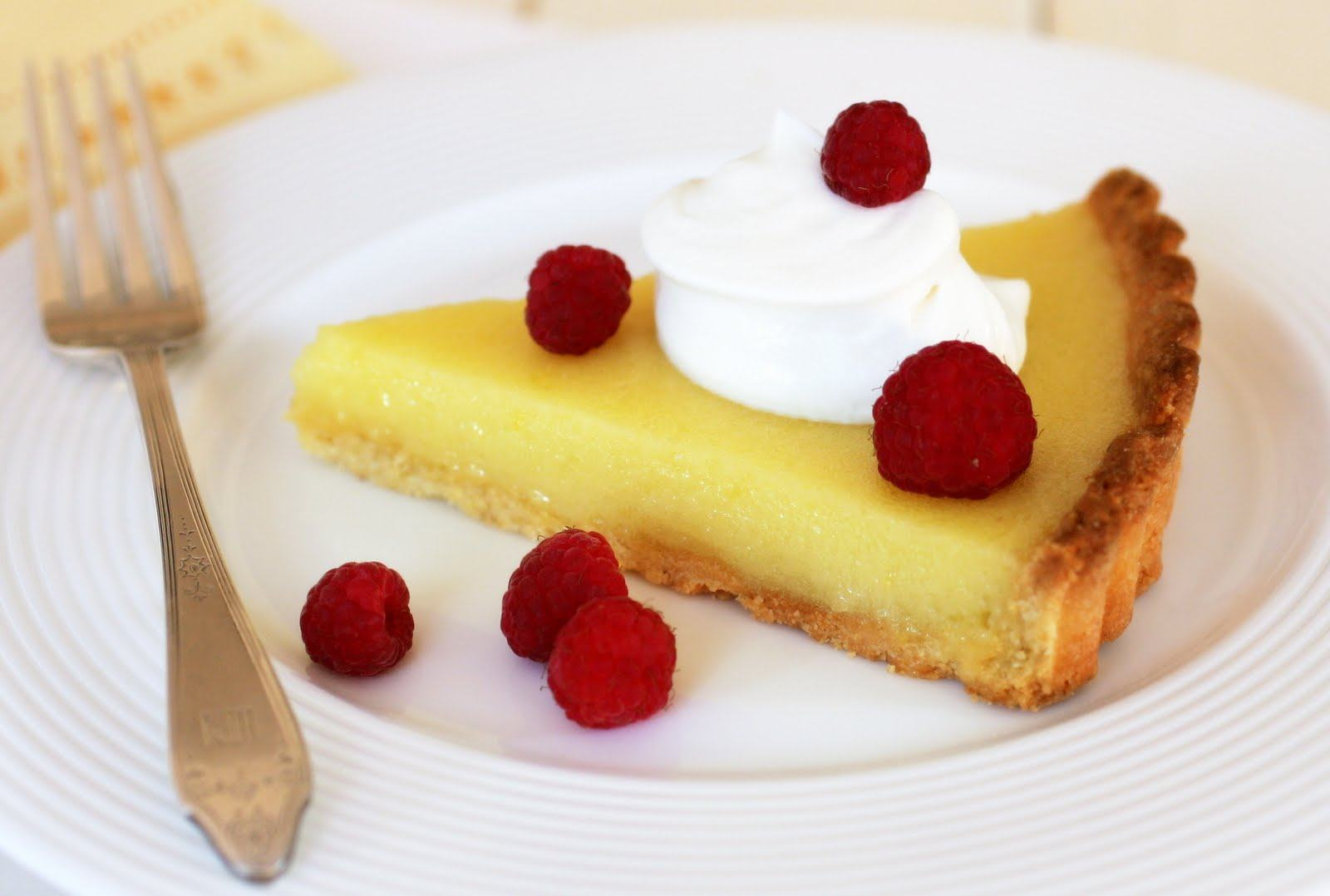 The Most Extraordinary Lemon Cream Tart Recipe