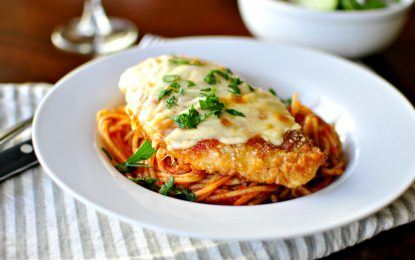 Gluten-Free Chicken Parmigiana with Pasta Recipe