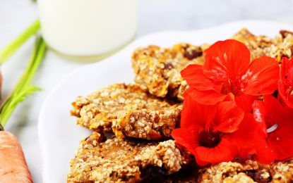 Gluten-Free Gingered Carrot Cookies Recipe