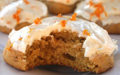 Pumpkin Love: Cookies and Cream Cheese Frosting