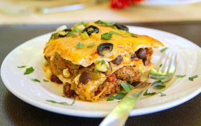 Mexican Lasagna Recipe. Less Gazing and Quicker Plating